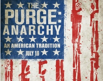 Crop of the movie poster for The Purge: Anarchy
