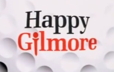 Happy Gilmore starring Adam Sandler