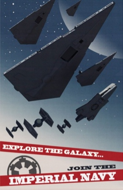 Star Wars Rebels Propaganda Poster